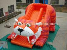 Sabretooth Tiger Inflatable Slide