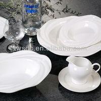 porcelain crockery porcelain for wedding rental