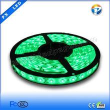 12v led strip smd 3528 green color IP65