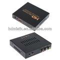 Av dönüştürücü Av/cvbs+r/l Ses girişi HDMI çıkışı dönüştürücü yaygın kullanılan Dvd, dijital televizyon set-up