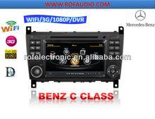 2 Din Car radio 3G DVD GPS For Mercedes Benz C-Class W203 (2004-2007) / Benz CLC (2008-10) / Benz G-Class W467(2005-2007)