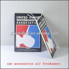 Standard size 7*10cm car accessories air fresheners