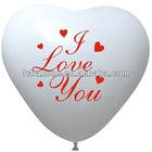 heart shape printable photo balloon
