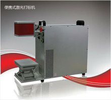 Portable 10W 20W 50W Fiber Laser Marking Machine jeans manufacturing process