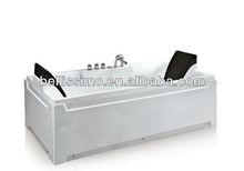 Fashionable 2 person soaking bath and tub BS-6708