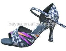 Women's flamenco dance shoe white dance shoes latin dance shoes salsa dance shoes BL109