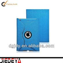Lychee PU leather case for Ipad Mini,360 degree rotating case for Mini Ipad
