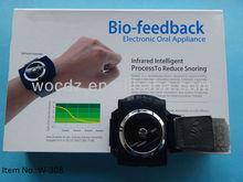 Intelligent Anti Snore Gone Snoring Wrist Watch NEW Electric Pulse Bracelet Snore Stopper