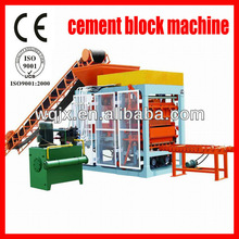 Cement concrete block Making machine and brick machine from Wanqi Factory with Phone:0086-15838282201