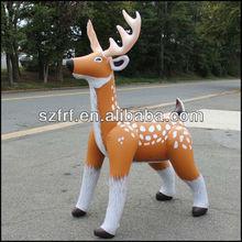 """Inflatable 74"""" Realistic Deer Reindeer Christmas Decor Display Blow Up Fun Kids/Inflatable Reindeer by Jet Creations - AN-DEER"""