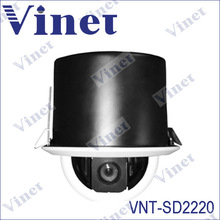 Day / Night Speed Dome Camera Indoor / Outdoor PTZ Camera