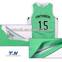 wholesale sublimation custom sleevesless basketball fashion style clothing