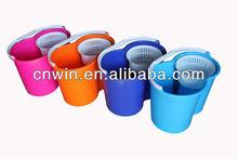 100% new materials easy mop 360 bucket