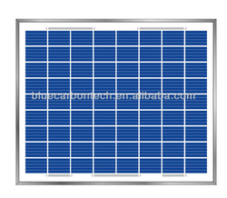 Small size high efficiency 10w cheap solar panels china