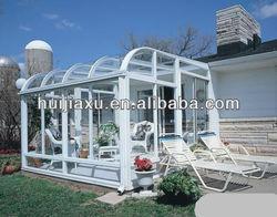 Custom Made Outdoor Glass Sun Room