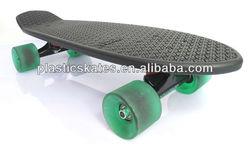 4 wheels globe cruiser complete old school mini fish cruiser skateboard