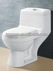 Sanitary ware One pice toilet ZZ-HZ-6918/ Economic /Siphon flush