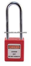 ABS SAFETY PADLOCK (76MM Shackle padlock, diameter 6mm)