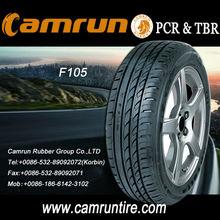 radial car tyre F105 ECE,DOT car tyres new