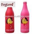 لعبة الكلب squeaker، اللثي ألعاب الحيوانات الأليفة في تصميم زجاجة بيرة