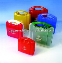 Gauke FDA/CE empty PP first aid boxs for home or office