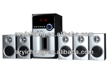 5.1 Channel Multimedia Speaker with USB/SD/FM/Bluetooth/Remote