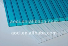 Polycarbonate hollow Sheet Greenhouse Building Materials/twin wall, triple wall, four layer