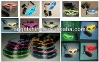 vivid EL flashing glasses / EL sunglasses / EL wire glasses in any color
