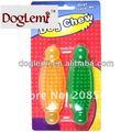 Perro mastique juguetes, pet juguetes para masticar, mantenga su mascota limpia los dientes juguetes mágica para venta al por mayor