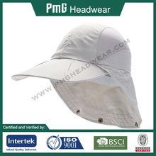 Sun Protection Cap / Sport cap with neck guard / Anti-UV UPF 50+