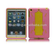 Beautuiful robot cellphone case for mini apple ipad ,robot style phone case hard handset shell for ipad mini