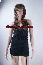 top quality balck sexy garter,sexy club wear
