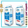 gable top milk carton liquid carton packing box ISO901 ISO14001