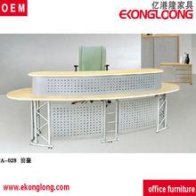steel reception desk/office front desk