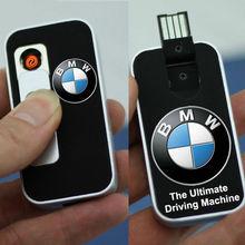 lighter car key Rechargeable USB windproof cigarette lighter