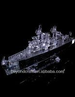 fashion crystal ship model