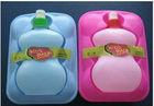 fancy plastic lunch box with water bottle