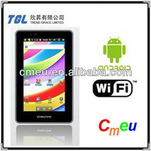 OEM or Cmeu top quality 7 inch Build-in 3G tablet PC 3G Wifi dual core Mini laptop