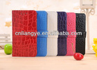 Newest style CROCO leather for blackberry z10 case