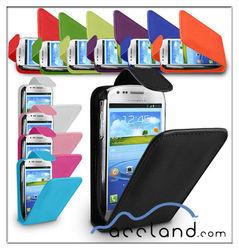 Flip Leather Case for Samsung Galaxy S3 S III Mini I8190