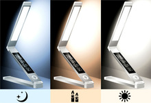 USB rechargeble Fashion eye-protective LED study table lamp