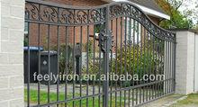 Garden arch wrought iron gate FG-032