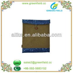 File bag design canvas bag for ipad