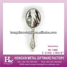 HX-1660 Silver nice print metal mirror art