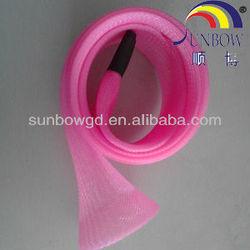 flexible environmental PET/Nylon expandable sleeving