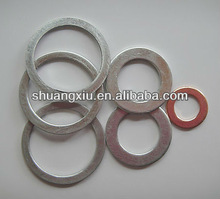 Supply flat copper or aluminum washer