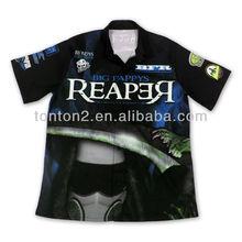 2013 Latest Fashion Polo Collar Tshirt Design