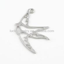 Alloy animals bracelet charms bird charms