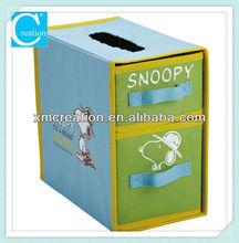 Non-woven Kids dog Foldable Storage Box/bin