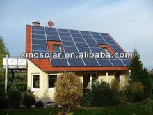 1500W residential solar electric power system for home